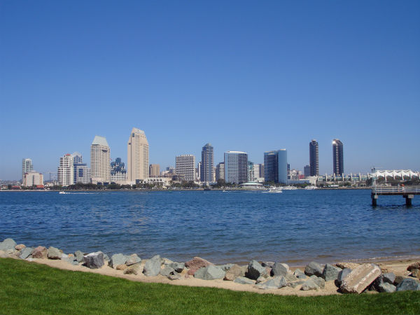Skyline of San Diego Bay